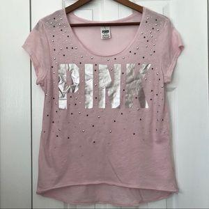 PINK Victoria's Secret | Short Sleeve Top Sparkle